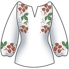 Схемы для вышивки женской рубашки